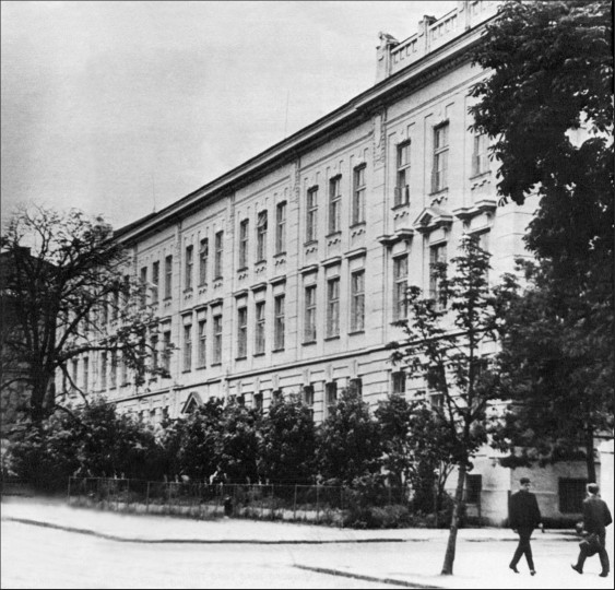 Image - The Academic Gymnasium of Lviv (1906).