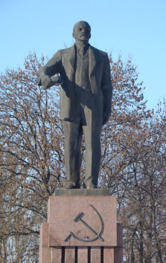 Image - Lenin monument in Bila Tserkva (by Vasyl Ahibalov and others).