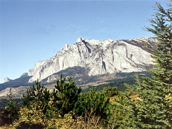 Image - Mount Ai-Petri in the Crimea.