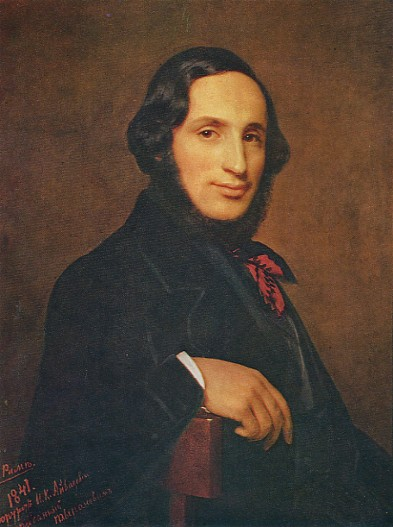 Image - Portrait of Ivan Aivazovsky by A. Tyranov (1841)
