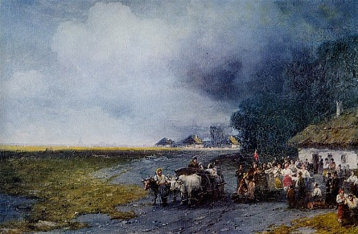 Image - Ivan Aivazovsky: Wedding in Ukraine (1891)
