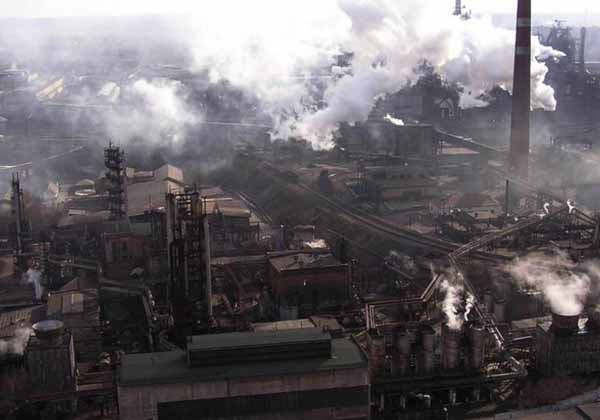 Image - The Alchevsk Metallurgical Complex (aerial view).