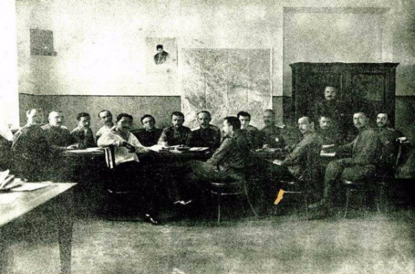 Image - A meeting of the All-Ukrainian Council of Military Deputies (July 1917).