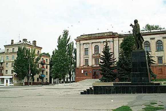Image - Amvrosiivka, Donetsk oblast (city center).