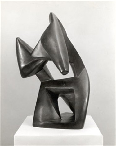 Image - Alexander Archipenko: Boxing (1914)