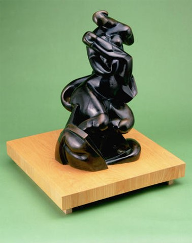 Image - Alexander Archipenko: Madonna of the Rocks (1912)