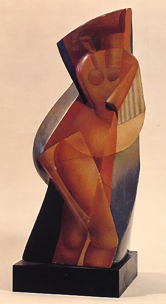 Image -  Alexander Archipenko: The Bather (1915)