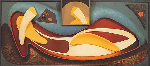 Image - Alexander Archipenko: Cleopatra Repose