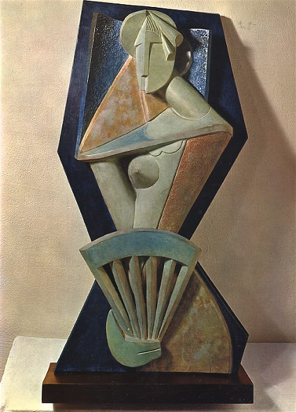 Image - Alexander Archipenko: Woman with a Fan