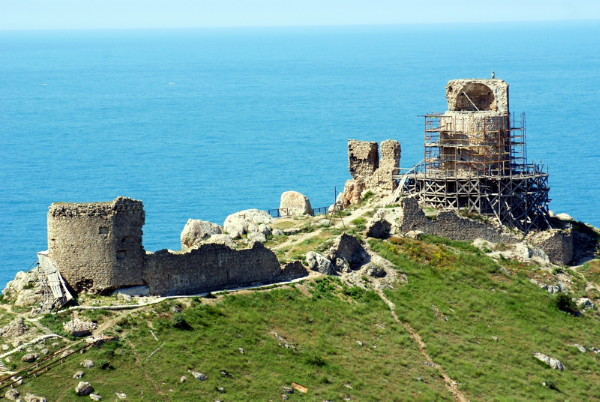 Image - Balaklava: ruins of the Geonese fortress.
