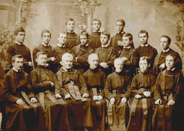 Image - Basilian monks after the reform of the 1880s (Dobromyl 1885-86).