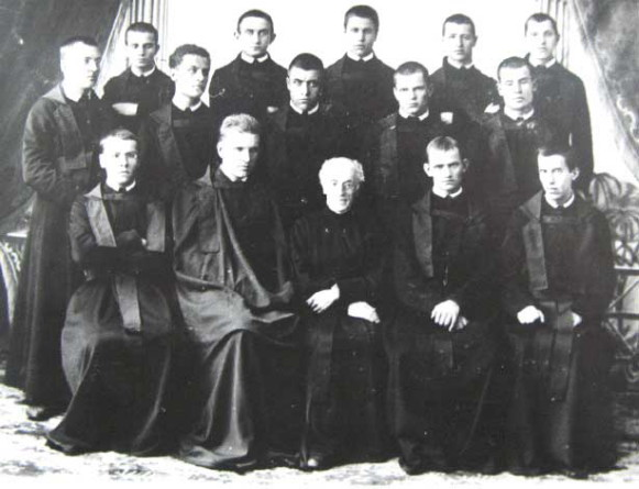 Image - Basilian monks in Dobromyl (1893) (with Andrei Sheptytsky).