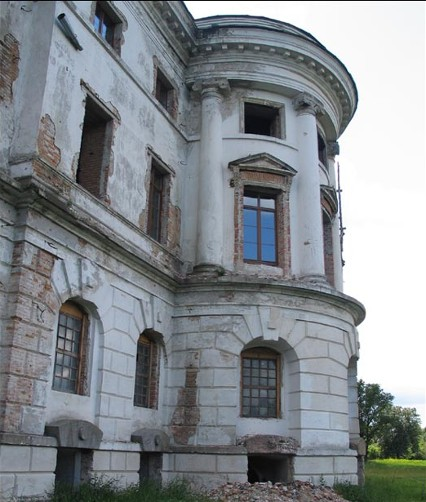 Image - Half-ruined palace of Hetman Kyrylo Rozumovsky in Baturyn.
