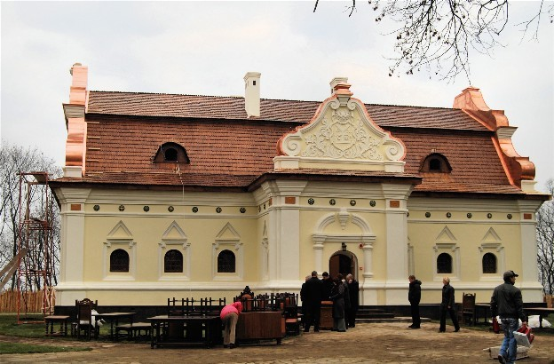 Image - Reconstructed hetman palace (1670s?80s) in the Baturyn citadel (photo: V. Kovalenko).
