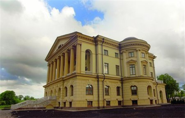 Image - The reconstructed palace of Hetman Kyrylo Rozumovsky in Baturyn.