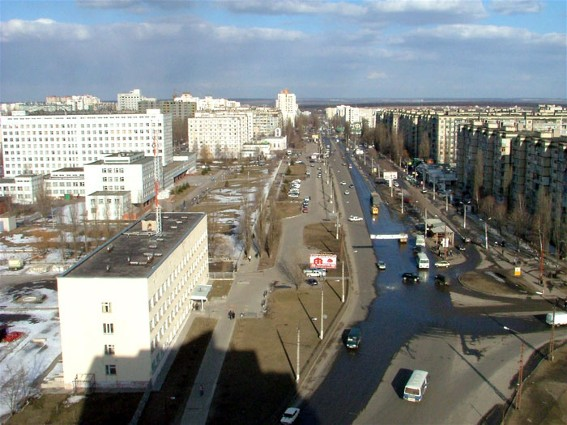 Image - Belgorod: residential district.