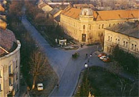 Image - Berehove city center.
