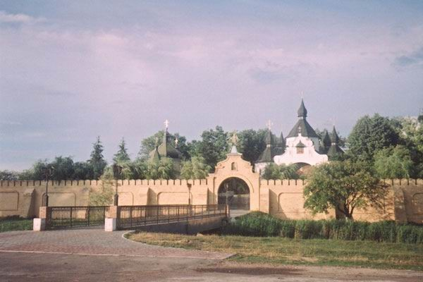 Image -- Berestechko: Saint George's Church complex.