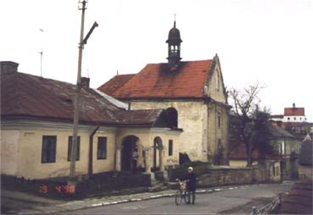 Image - Armenian church in Berezhany (1750).