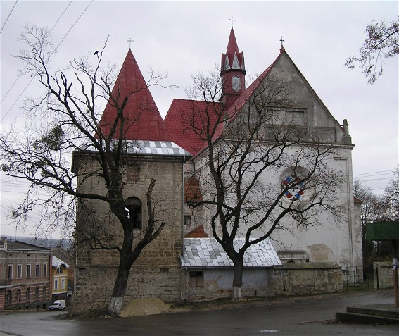 Image - SS Peter and Paul Church in Berezhany (1600).