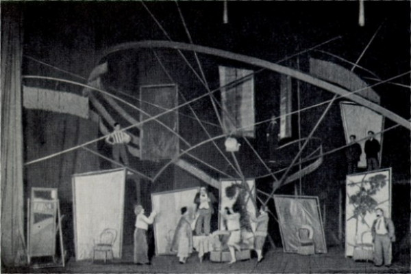 Image - A scene from Les Kurbas production of Mykola Kulishs Myna Mazailo in the Berezil theater (1929).
