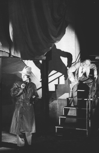 Image - A scene from Les Kurbas production of Mykola Kulishs Maklena Grasa (1933).