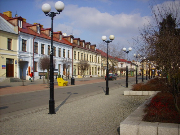 Image - Biala Podlaska: city center.