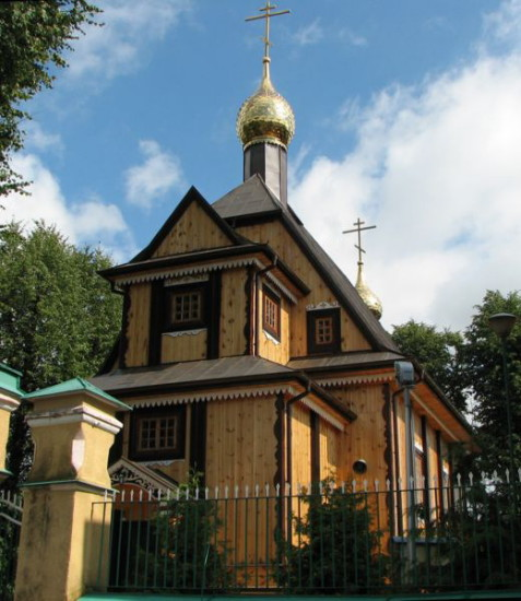 Image -- The Nativity of the Mother of God Orthodox Church in Bielsk Podlaski.