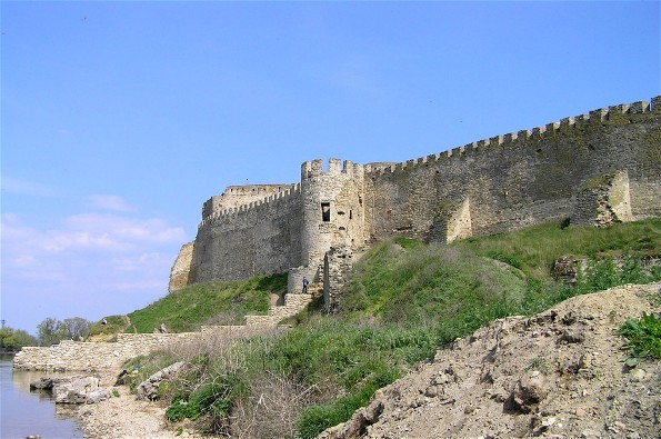 Image - Bilhorod-Dnistrovskyi fortress (15th century).