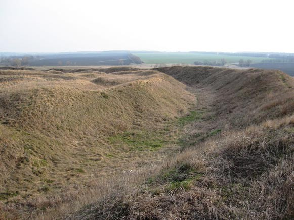 Image - The Bilsk fortified settlement (earthworks and moat).