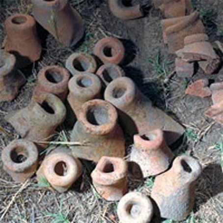 Image - Pottery excavated at the Bilsk fortified settlement.
