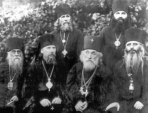 Image - Bishops of the Ukrainian exarchate of the Russian Orthodox Church at the 1926 sobor in Kyiv.