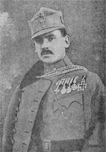 Image - Bizanz Alfred during the First World War.