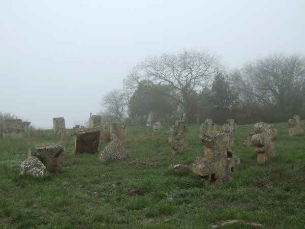 Image - A Black Sea Cossack cemetary in Hryhorivka, Odesa oblast.