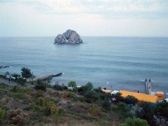 Image - The Black Sea near Hurzuf.