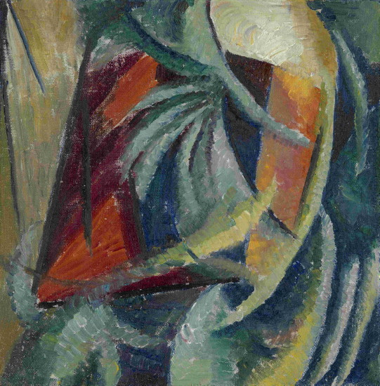 Image - Oleksander Bohomazov: An Abstract Composition (1913-14).