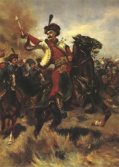 Image - Colonel Ivan Bohun at the Battle of Berestechko.