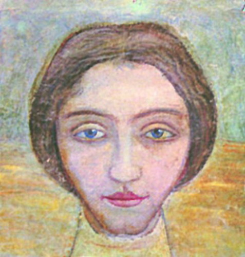 Image - Mykhailo Boichuk: Portrait of a Woman.