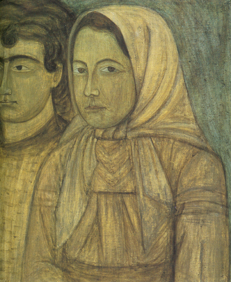 Image - Tymofii Boichuk: Group Portrait (early 1920s)