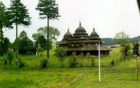 Image - A Boiko church near Skole, Lviv oblast.