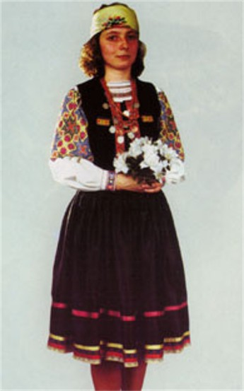 Image - A Boiko female wedding attire.