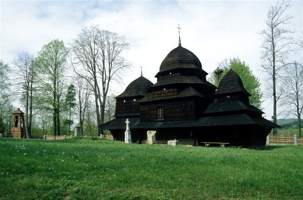 Image - Traditional three-domed Boiko church.