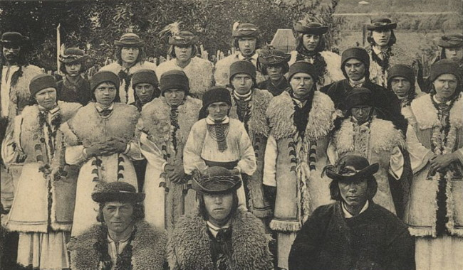 Image - Boikos from Yasenia in Kalush region (early 20th century).