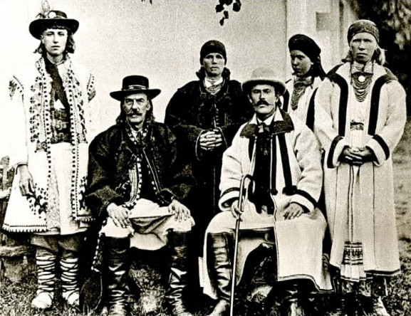 Image - Boikos in traditional dress (early 20th century).