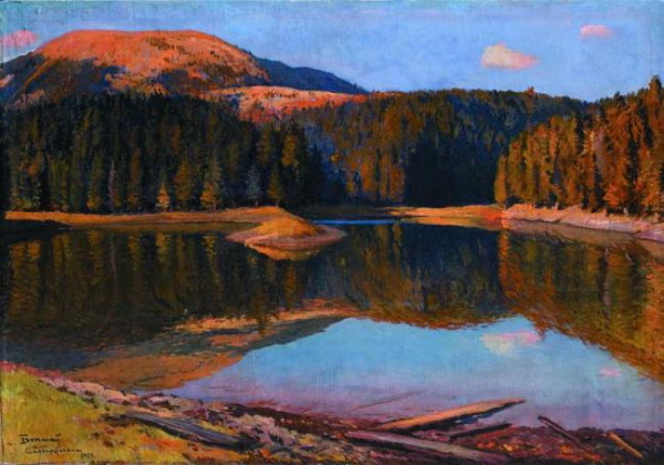 Image - Yosyp Bokshai: The Synevyr Lake (1967).