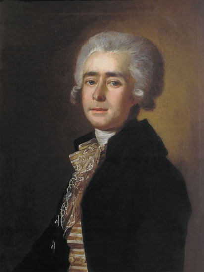 Image -- A portrait of Dmytro Bortniansky by M. Belsky (1788).