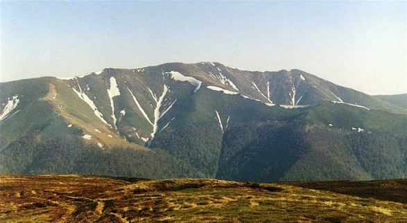 Image - Mount Stih (1,677 m) in the Borzhava mountain group in the Polonynian Beskyd.