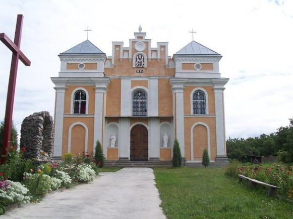 Image - Bratslav: Roman Catholic church.