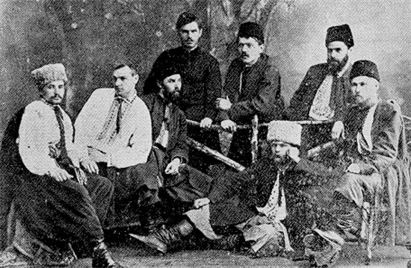 Image - The Brotherhood of Taras members in Kharkiv (1891).