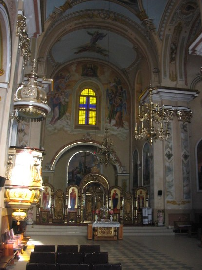 Image - Buchach: the Church of the Theotokos (1764) interior.
